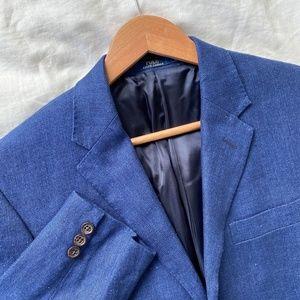 POLO Ralph Lauren Linen Sport coat Suit Jacket 40R